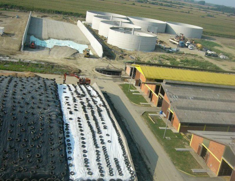 AB trenc silosi i AB spremnici za bioplinko postrojenje