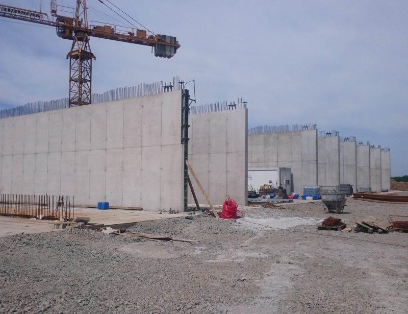 Monolitni AB zidovi h=6m