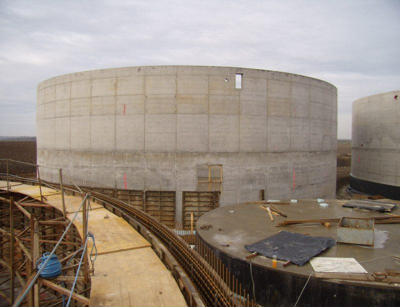 izrada AB spremnika za bioplin